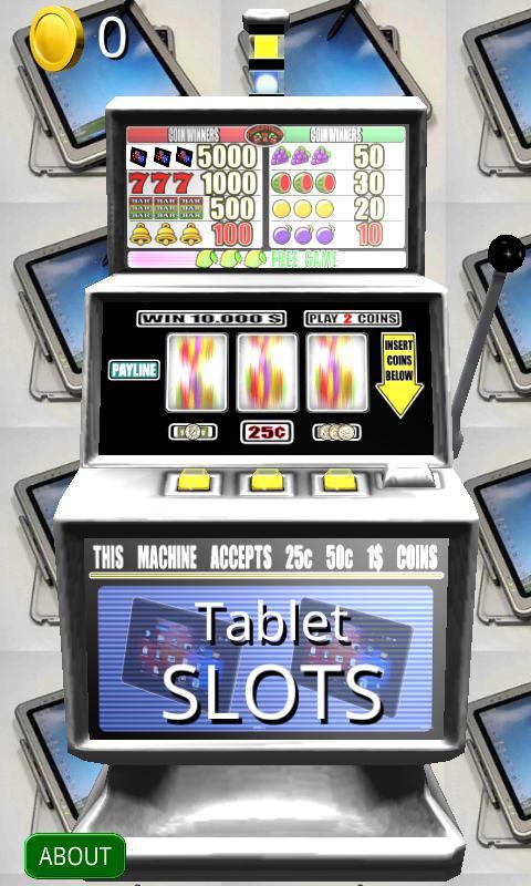 3D Tablet Slots - Free screenshot 1