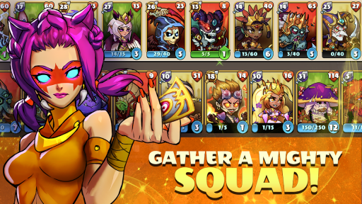 Mighty Party: Heroes Clash screenshot 3