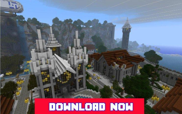 minecraft little kellys castle map download pe