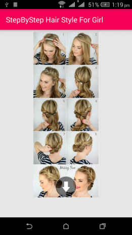 Stepbystep Hair Style For Girl 10 Download Apk For Android Aptoide