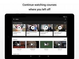 Lynda - Online Training Videos Screen