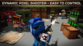 Blocky Cars Online Shooter FPS Screenshot