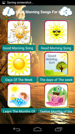 Good Morning Songs For Kids 1 Download APK for Android - Aptoide