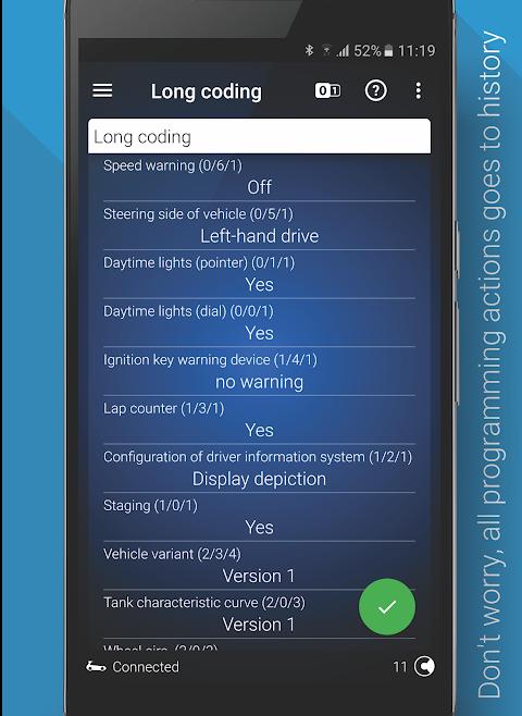 OBDeleven PRO car diagnostics app VAG OBD2 Scanner screenshot 6