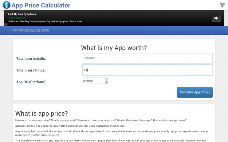 app price calculator 1 0 download apk for android aptoide