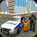 US City Police Car Jail Prisoners Transport Games