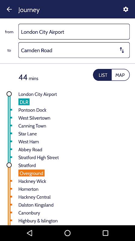 London Tube Map screenshot 1