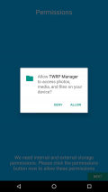 TWRP Manager  (Requires ROOT) Screenshot