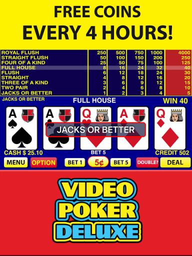 3/5 play video poker
