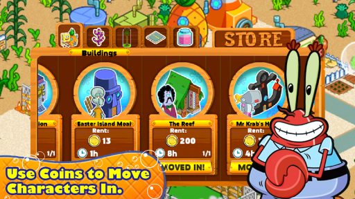 SpongeBob & Friends: Build Nickelodeon's Mega City screenshot 2