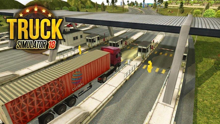 Camion Simulador 2018 : Europe screenshot 1