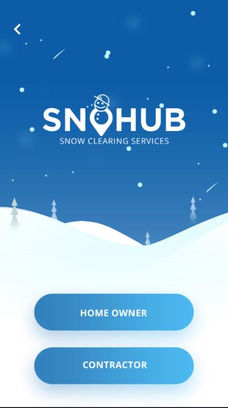 Snohub - Snow Clearing Service screenshot 1