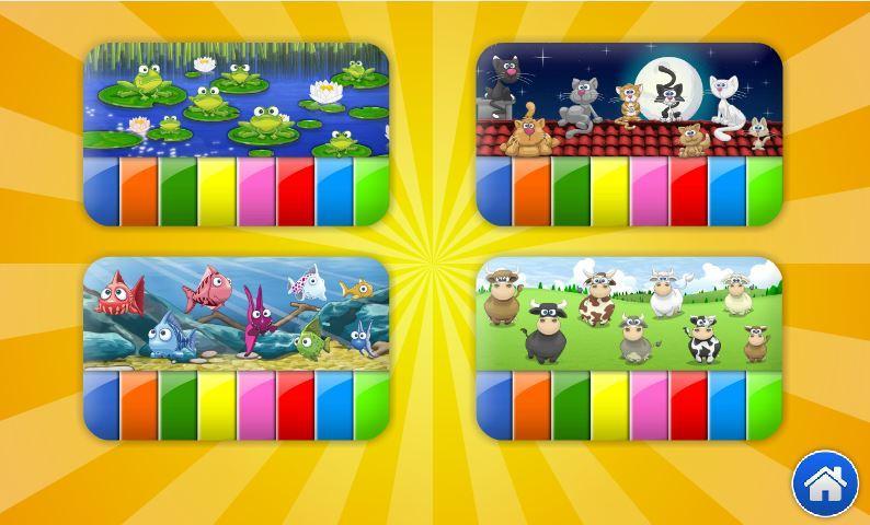 بيانو الحيوانات المضحكة screenshot 2