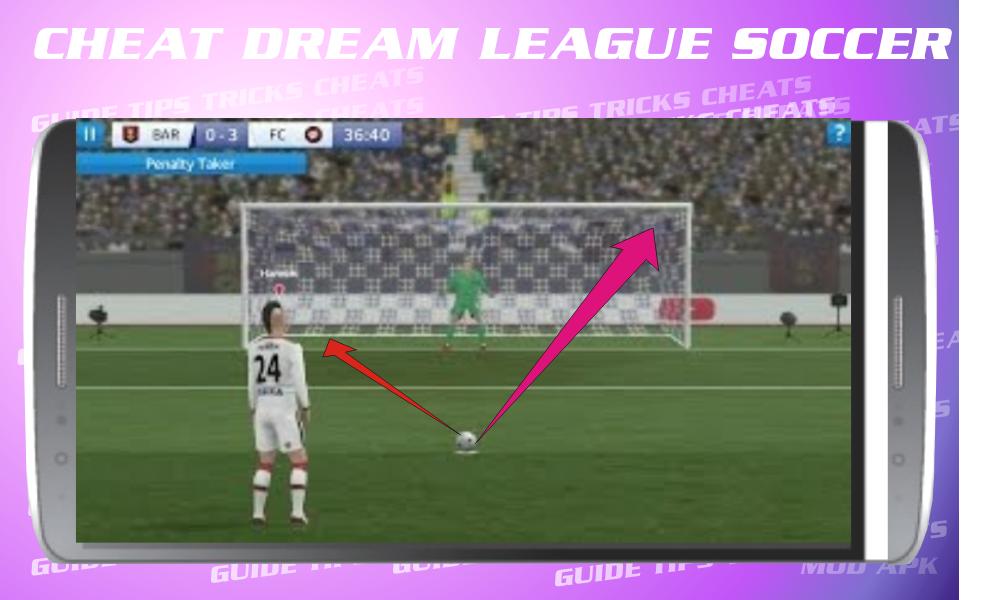 Cheats for Dream League Soccer 2017 screenshot 5