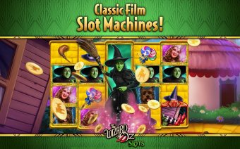 Wizard of Oz Free Slots Casino Screenshot