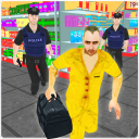 Gangster Escape Supermarket 3D