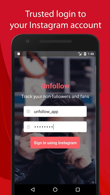 Unfollow for Instagram Pro screenshot 1