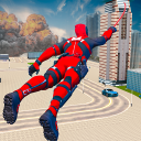 Miami Rope Hero Spider Open World City Gangster