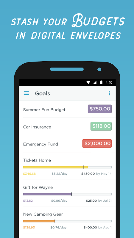 Simple - Mobile Banking and Budgeting App screenshot 2