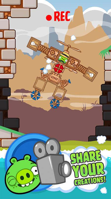 Bad Piggies HD screenshot 5