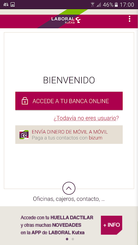 Banca Móvil Laboral Kutxa screenshot 1