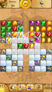 Clash of Diamonds - Match 3 Jewel Games screenshot 1