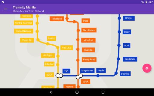 Trainsity Manila LRT MRT PNR screenshot 6