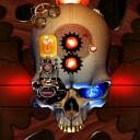 Steampunk Skull Live Wallpaper