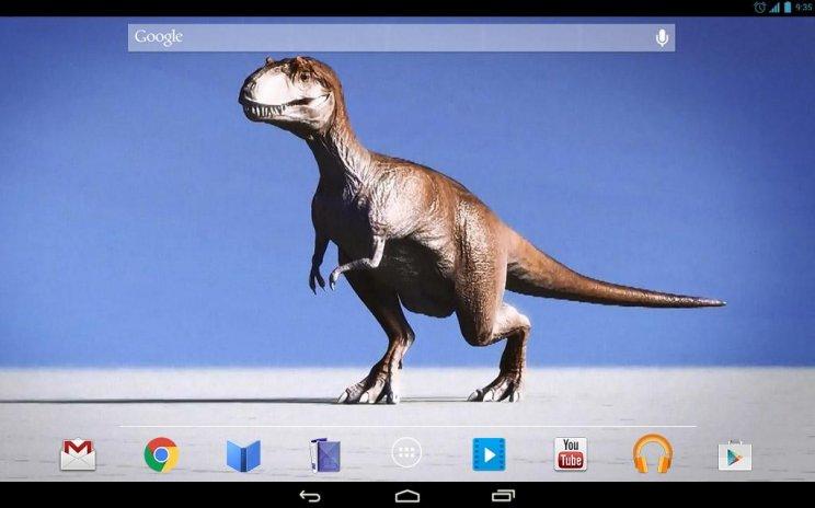 Clumsy Dinosaur Live Wallpaper Screenshot 5