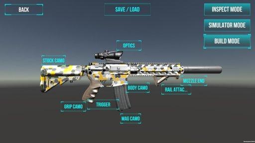 3D Ultimate Gun Simulator Builder screenshot 3
