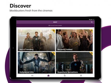 HOOQ: Watch Movies, TV Shows, Live Channels & News 3 7 1