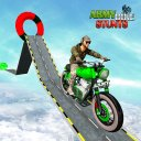 Army Stuntman Bike Stunt Games
