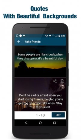 Best Quotes Status & Sayings 1 0 Download APK for Android