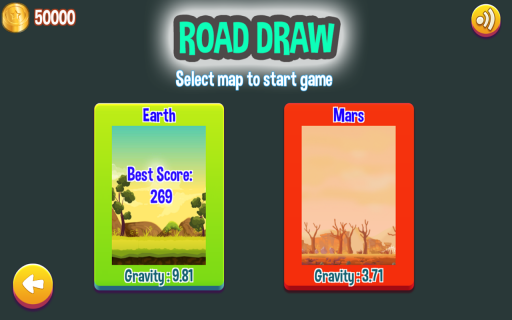 Road Draw: Climb Your Own Hills screenshot 4