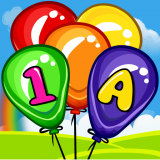 Balloon game - Learning game for kids Icon