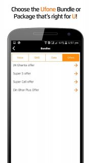 My Ufone screenshot 2