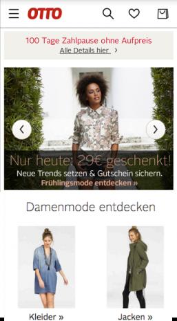 Super Rabatt Rabatt bis zu 60% Online-Einzelhändler OTTO - Shopping für Elektronik, Möbel & Mode 9.0.1 Загрузить ...