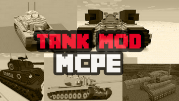 Tank Mod Minecraft 0.15.0 Screen