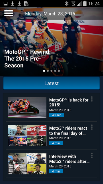 com.motogp.videopass | Download APK for Android - Aptoide