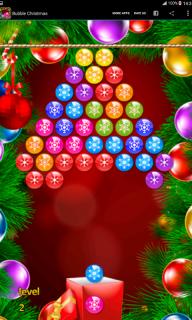 Bubble Christmas screenshot 2