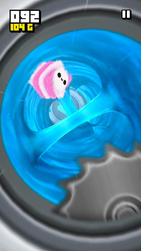 Fluffy Fall: Fly Fast to Dodge the Danger! screenshot 4