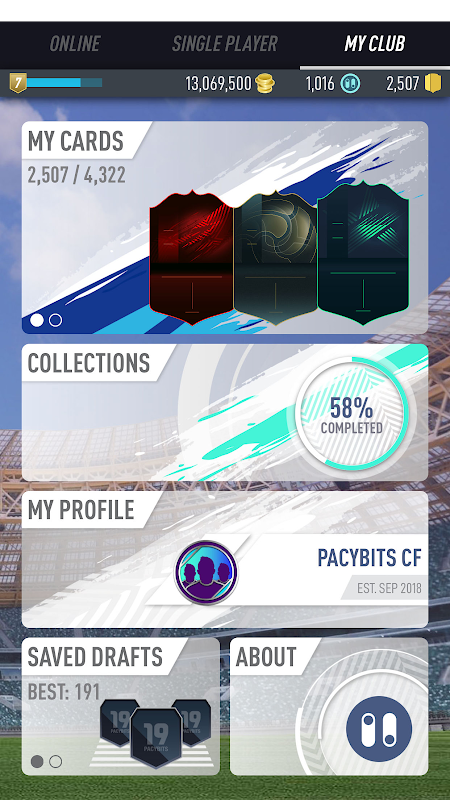 PACYBITS FUT 19 screenshot 2