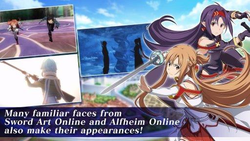 Sword Art Online Alicization Rising Steel screenshot 1