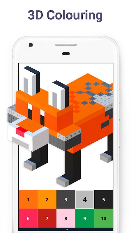 Pixel Art: Colour by Number screenshot 8
