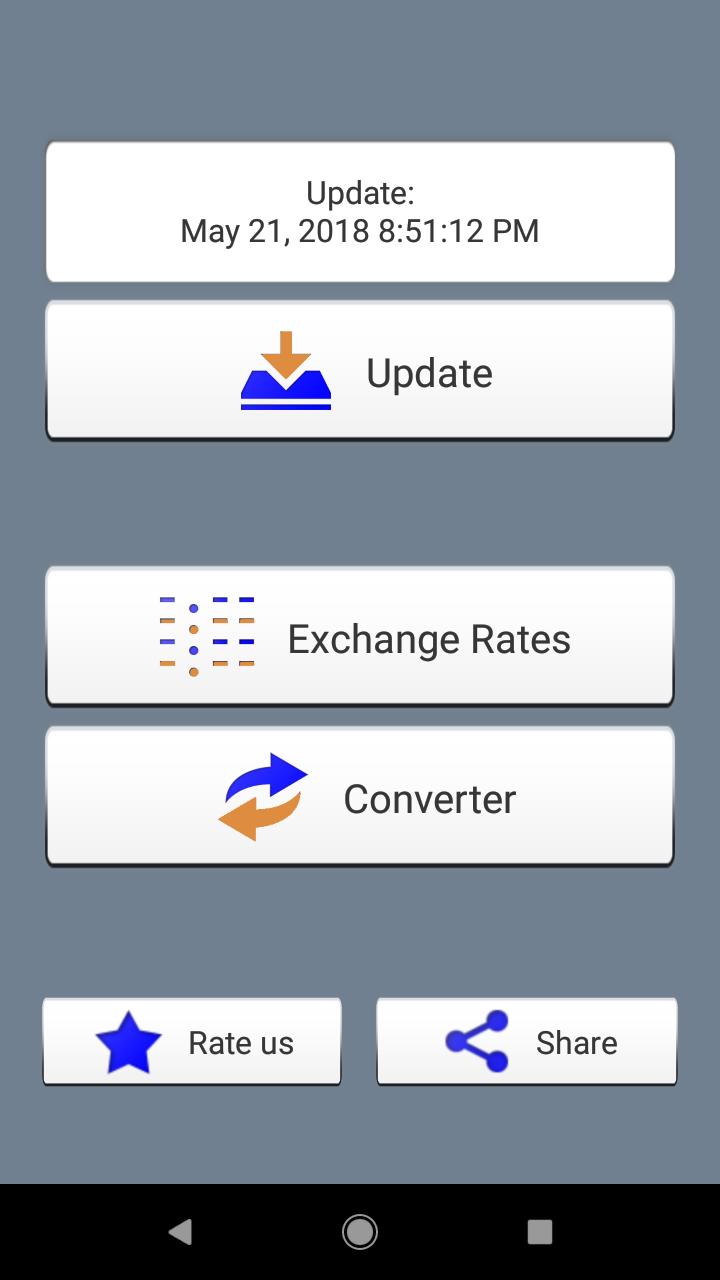 Conversor de moedas. Taxas de câmbio e calculadora offline screenshot 1