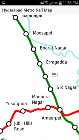 Hyderabad Metro Rail Map 0.0.1 Download APK for Android - Aptoide on
