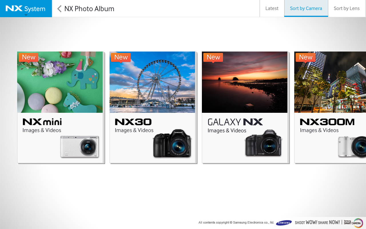 Samsung SMART CAMERA NX screenshot 2