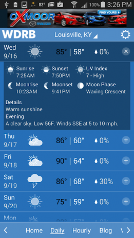 WDRB Weather & Traffic 4 6 701 Download APK for Android