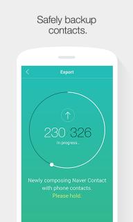 Naver Contacts & Dial screenshot 2