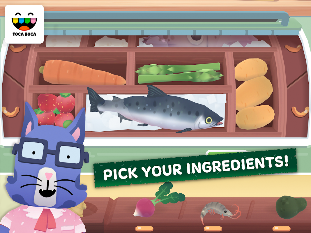 Toca Kitchen Sushi screenshot 1